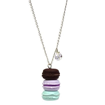 Oh la la 3 Macarons Necklace