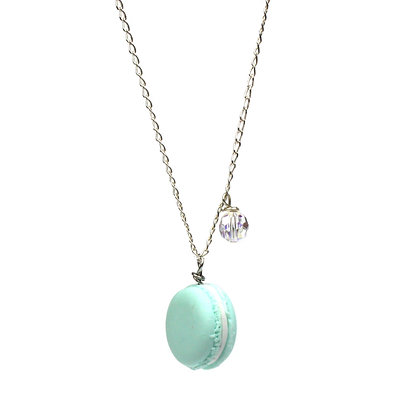 My Fave Mint Macaron Necklace