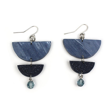 Give me Marble Stardust Statement earrings
