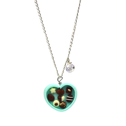 Pamper me Truffle Box Necklace