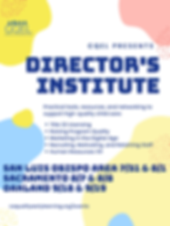 CQEL Director Institute Flyer 2019.png