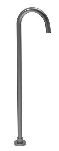 Senza Bath Filler Standing Gun Metal