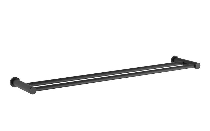 Handel Towel Rail Double 600mm Black