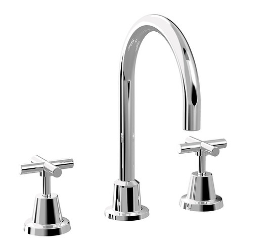 Meno Hob Sink Set Chrome