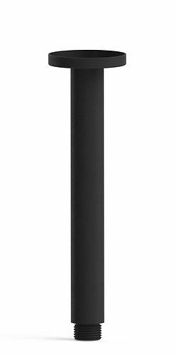 Senza 200mm Shower Arm Ceiling Black