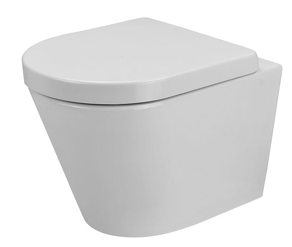 Bassini Wall-Faced Toilet Suite with Standard Soft Close Seat