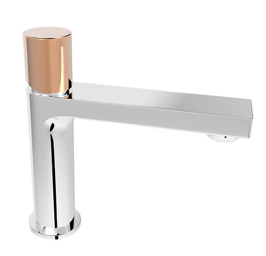 Handel Basin Mixer Chrome with Gold