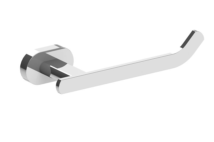 Lento Toilet Roll Holder Chrome