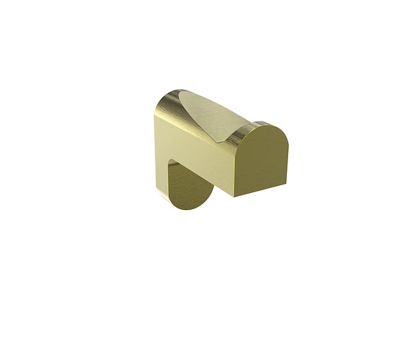 Bassini Robe Hook Brushed Gold