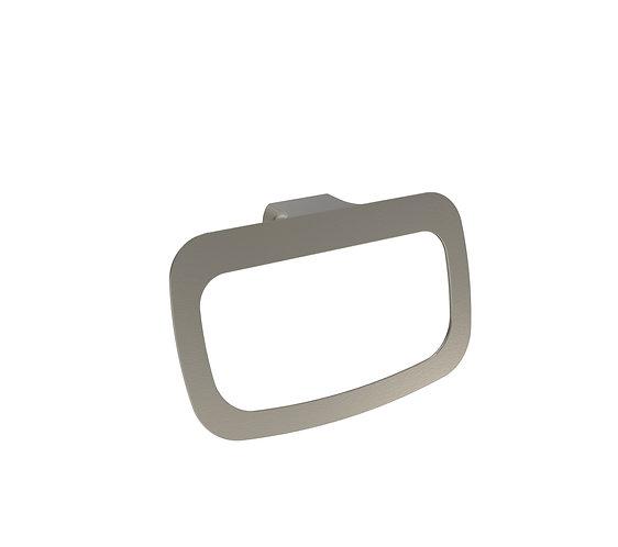 Bassini Towel Ring Brushed Chrome