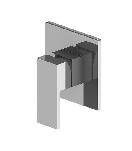 Alto Wall Mixer Chrome Square Body