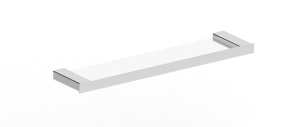 Rondo Glass Shelf Chrome