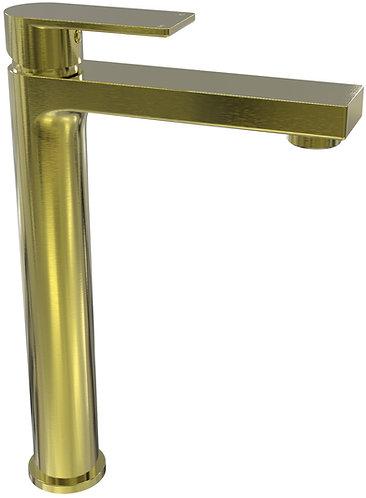 Brunetti Tower Basin Mixer Brushed Gold