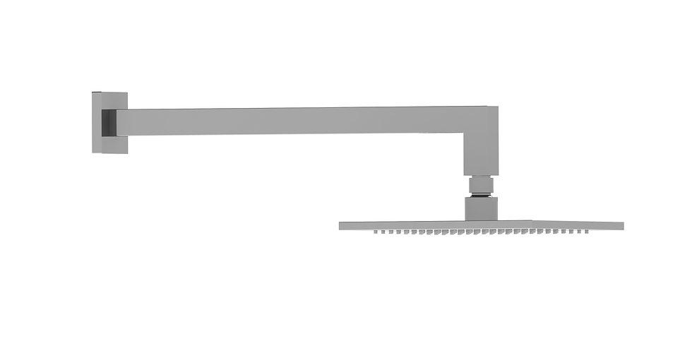 Brunetti Overhead Shower Set Chrome