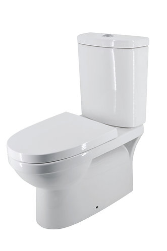 Latilla Back-to-Wall Toilet Suite Back Entry