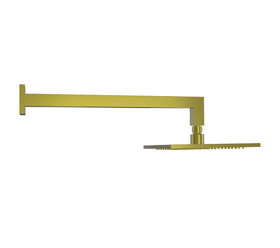 Brunetti Overhead Shower Set Brushed Gold