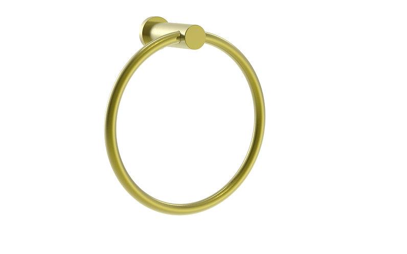 Handel Towel Ring Brushed Gold