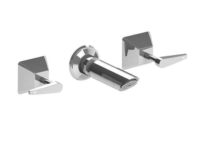Gallina Shower Set Chrome Lever handle