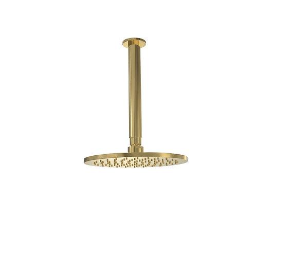 Bassini Overhead Ceiling Shower Brass
