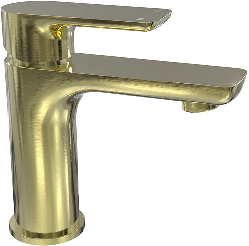 Bassini Basin Mixer Brushed Gold