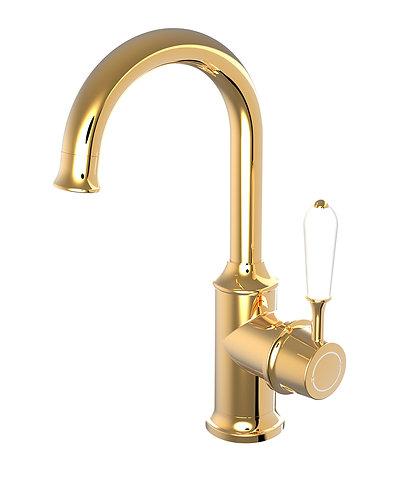 Rubato Basin Mixer Gold