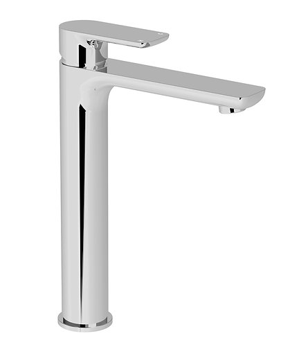 Bassini Tower Basin Mixer Chrome