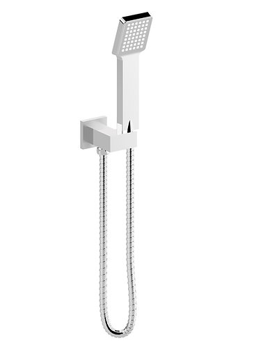 Alto Aube Shower with Integrated Elbow Chrome