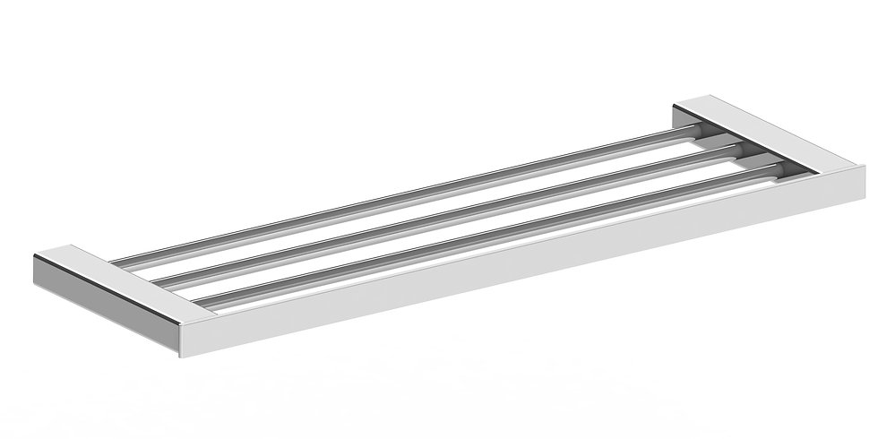 Rondo Towel Rail Rack Chrome