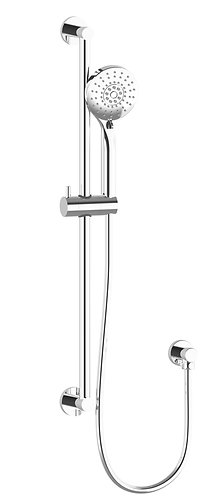 Senza Multi Function Shower with Rail Chrome
