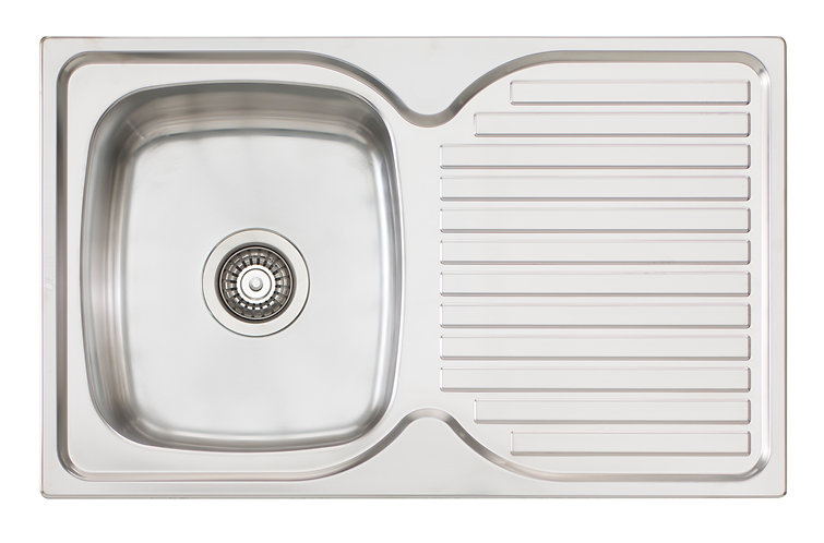 Bassini Sink Single Bowl With Drainer
