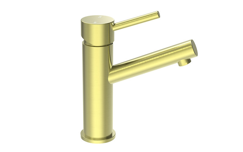 Senza Basin Mixer Brushed Gold