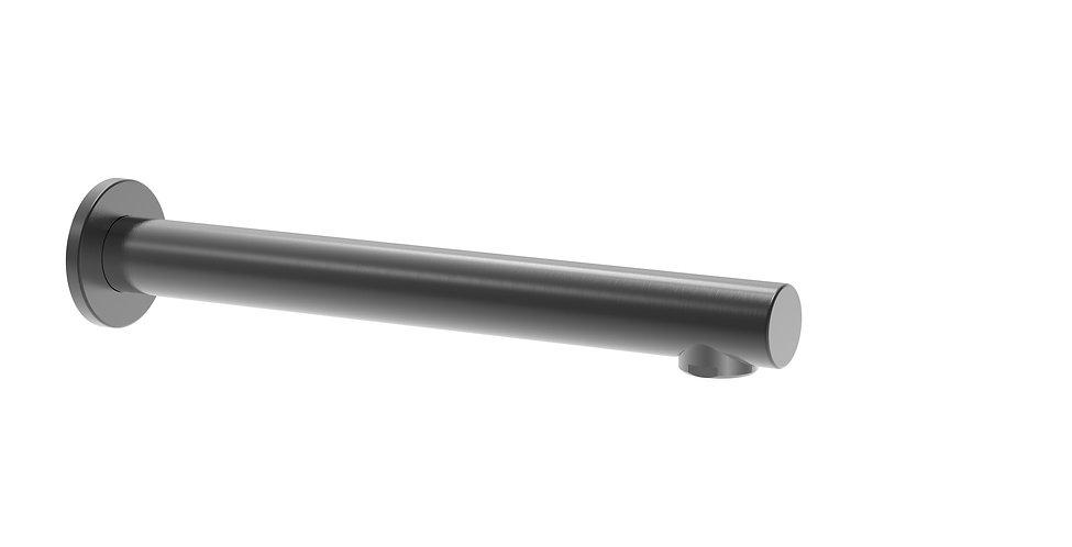 Senza Bath Spout 300mm Gun Metal