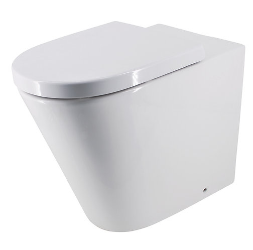 Bassini Wall-Faced Extra Height Toilet Suite