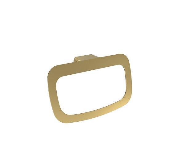 Bassini Towel Ring Brass