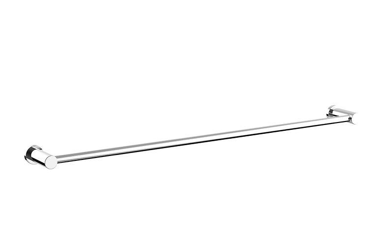 Handel Towel Rail Single 600mm Chrome