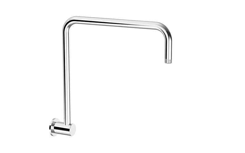 Senza Round Wall Gooseneck Shower Arm
