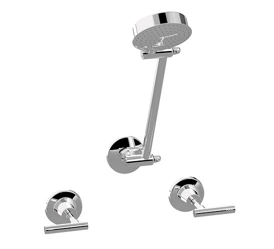 Meno Lever Shower Set Chrome