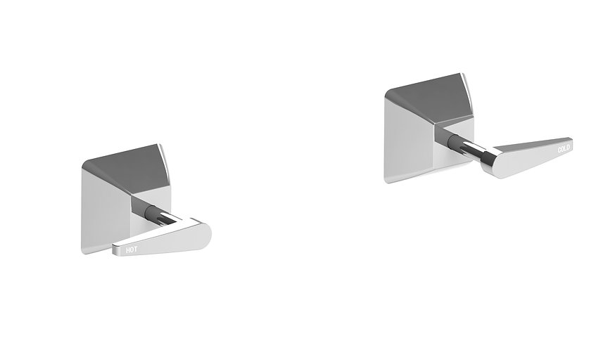 Gallina Wall Stops Chrome Lever Handle