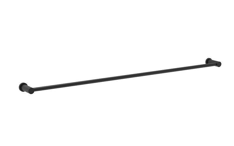 Handel Towel Rail Single 800mm Black