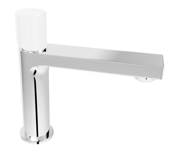 Handel Basin Mixer Chrome with White