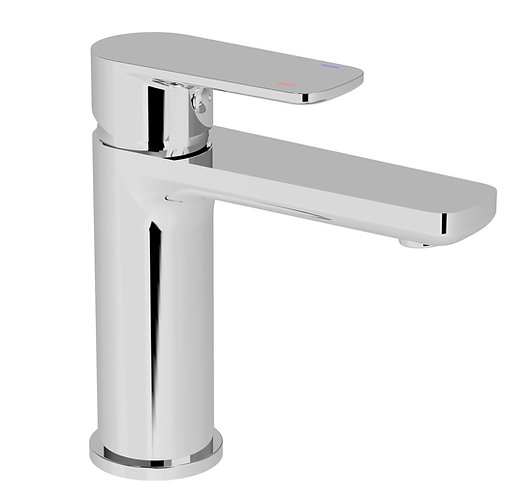 Nardini Basin Mixer Chrome