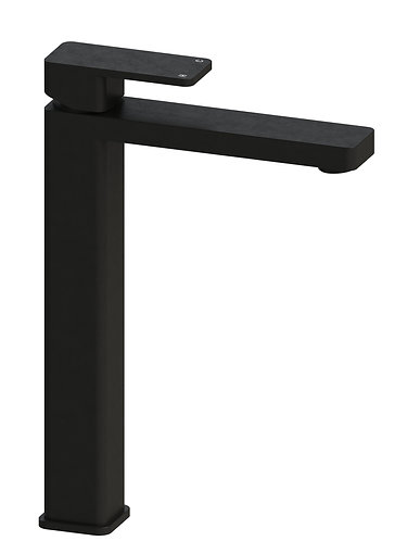 Rondo Solid Extended Basin Mixer Black