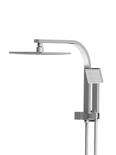 Brunetti Combination Shower with Integrated Connection and Hand Shower [Square]