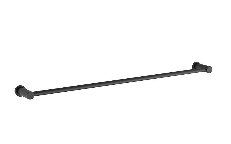Handel Towel Rail Single 600mm Black