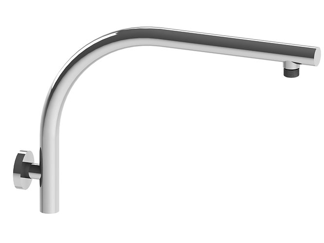 Bassini Gooseneck Shower Arm Chrome