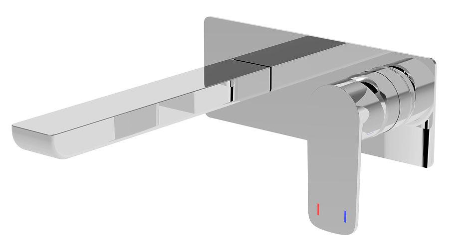 Nardini Wall Basin Mixer Chrome