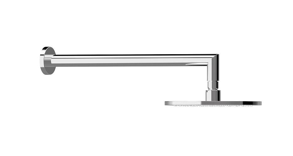 Bassini Overhead Shower Set Chrome