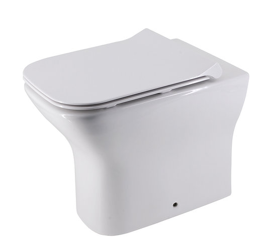 Brunetti Wall-Faced Rimless Toilet Suite with Slim Soft Close Seat
