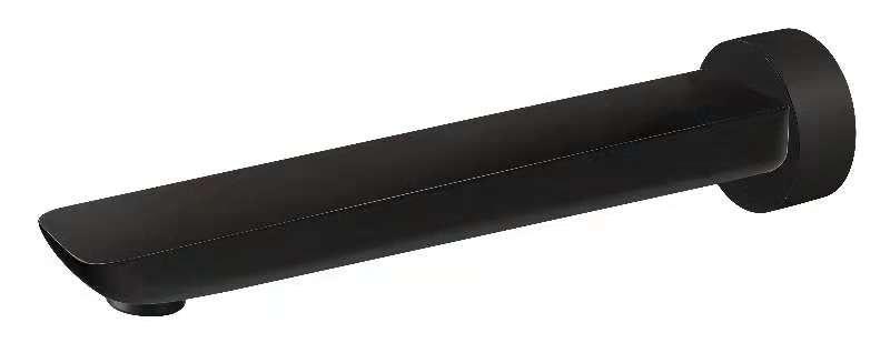 Bassini Bath Spout 180mm Black