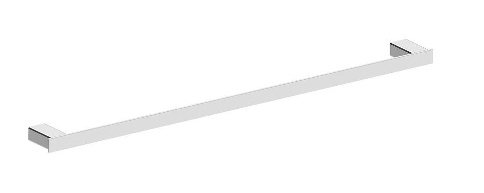 Rondo Towel Rail Single 800mm Chrome